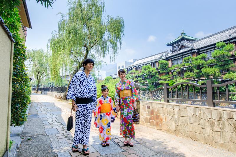 伊東温泉 松川遊歩道